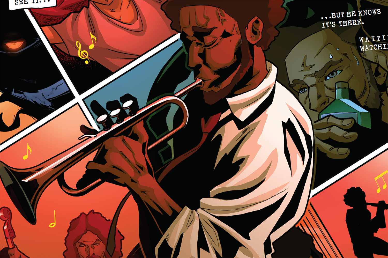 Image result for jazz legend # 1 scout comics