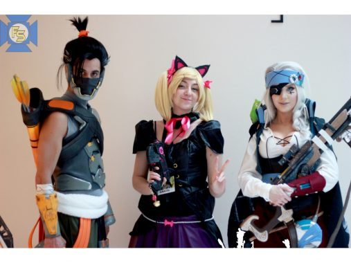 Cosplayers at Katsucon 2018
