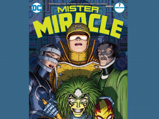 Mister Miracle #7 (2018) - Comic Book Review - Fandom Spotlite