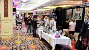 Vendors and attendees at Garden State Comic Fest Atlantic City