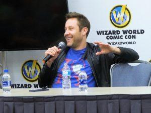 Michael Rosenbaum at Wizard World Philadelphia 2018