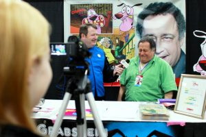 Voice Actor Marty Grabstein having a great interview.