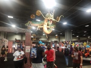 The Dragon Ball display at Otakon 2018. Photo by Duane Allen. Used with permission.