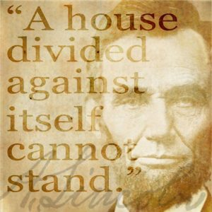 Lincoln's famous quote.