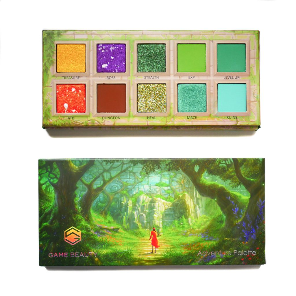 Game Beauty Adventure Palette